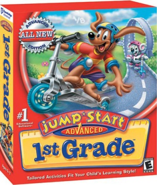 """JumpStart Advanced 1st Grade"" Desktop Game"