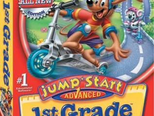 """JumpStart Advanced 1st Grade"" DesktopGame"