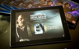 """Sherlock Holmes: A Game of Shadows"" Movie App"