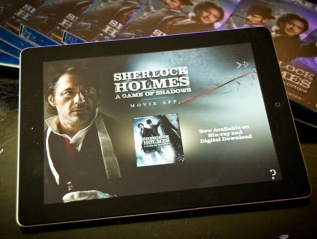 """Sherlock Holmes: A Game of Shadows"" MovieApp"
